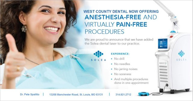 Pain-free dental procedures in St. Louis